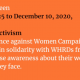#SupportWHRDs for #16Days 2020