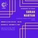 Befriending the Quran Community Course - Surah Maryam