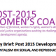 An Advocacy Brief: Post 2015 Development Agenda, Influences of Religious Fundamentalisms on Sexual & Reproductive Health and Rights of Women