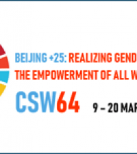 Women's Rights Caucus Issues Feminist Declaration Marking 25th Anniversary of the Beijing Declaration and Platform for Action