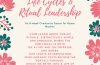 Apply by 3 February: Life Cycles & Ritual Leadership